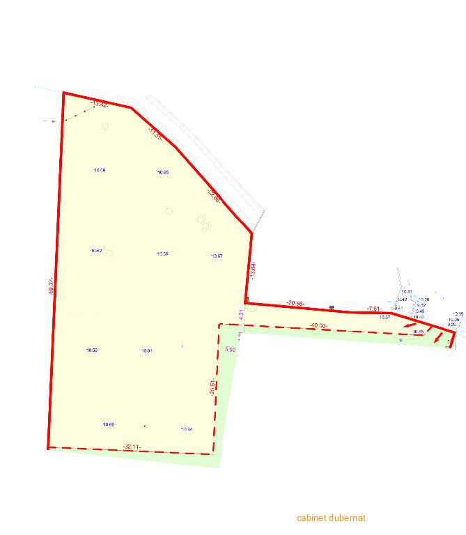 LE PIAN MEDOC terrain à bâtir de 2130 m²