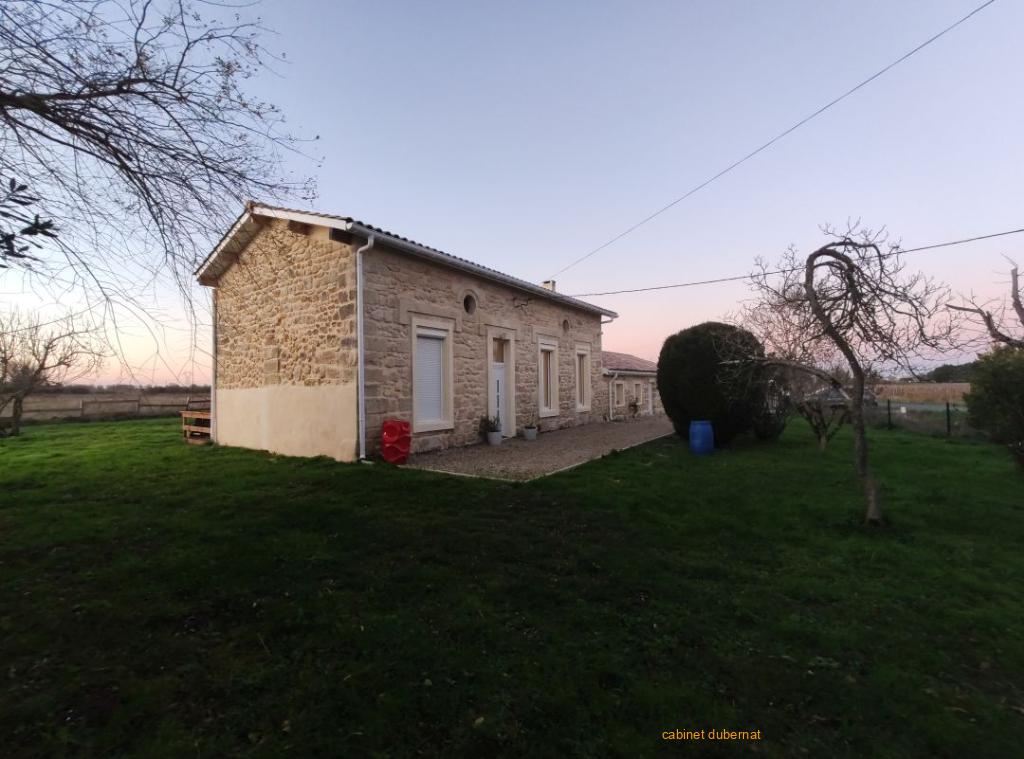 Ludon Medoc - Maison pierre entiérement rénovée sur 5 000 m²