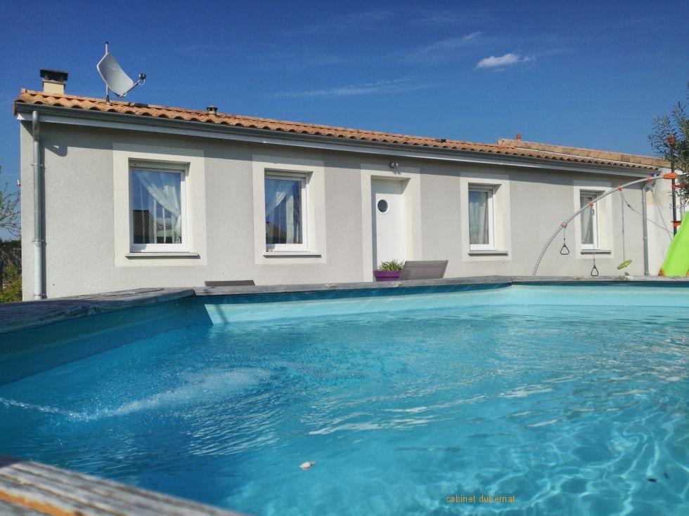 Ludon Medoc Maison 98 m² sur 442 m²
